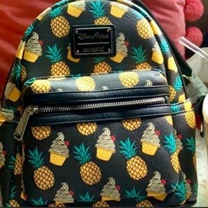 Disney Dole whip mini backpack made by Loungefly